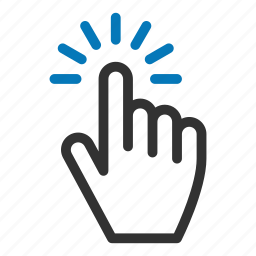 choice, cursor, finger, gesture, hand, pointer icon