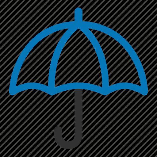 protect, protection, rain, safe, secure, umbrella icon