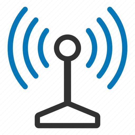 antenna, connection, internet, signal, wifi, wireless icon