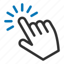 choice, cursor, finger, gesture, hand, pointer icon