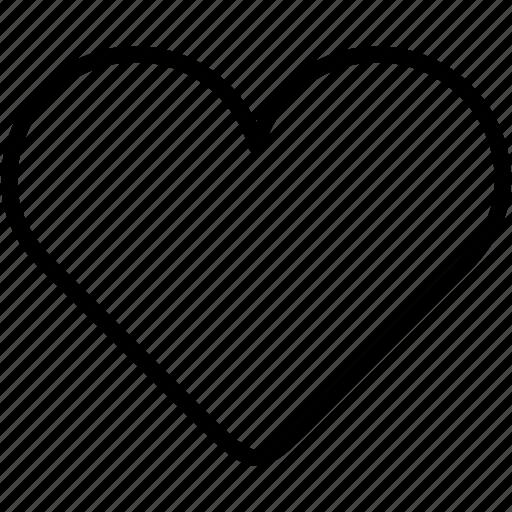 favourite, heart, like, love, romantic icon