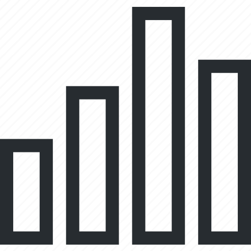bar, big data, chart, data, graph, number icon