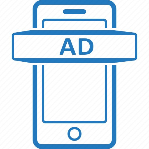 ad, advertise, advertisement, advertising, mobile, sponsor icon