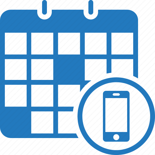 appointment, calendar, mobile appointment, schedule, timer icon
