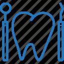 dental, dentist, dentist tool, instrument, surgery icon