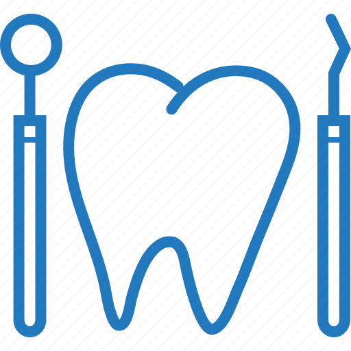 dental, dentist, dentist tool, instrument, surgery icon