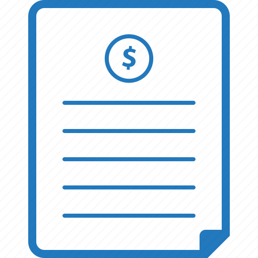 estimate, invoice, price, quotation, quote icon