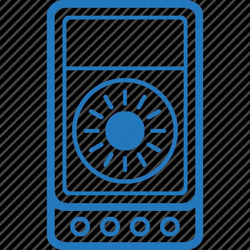 digital, electronic, measuring, meter, multimeter, tool, voltmeter icon