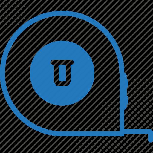 equipment, measure, measuring, metre, scale, tape, tool icon