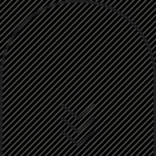 'Outline Webi-con 9 Black' by Web1 Technology