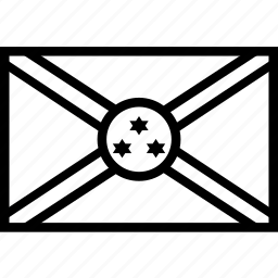 burundi, country, flag, nation icon
