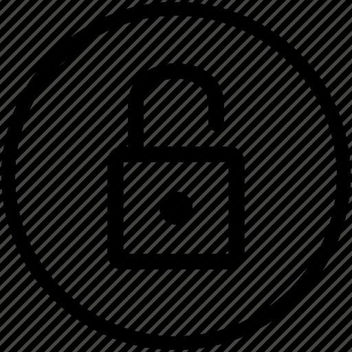 access, enter, entry, lock, security, unlock icon