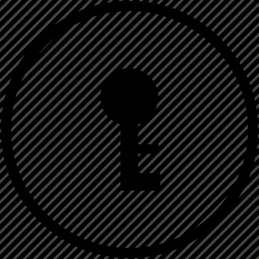 access, key, open, permission icon