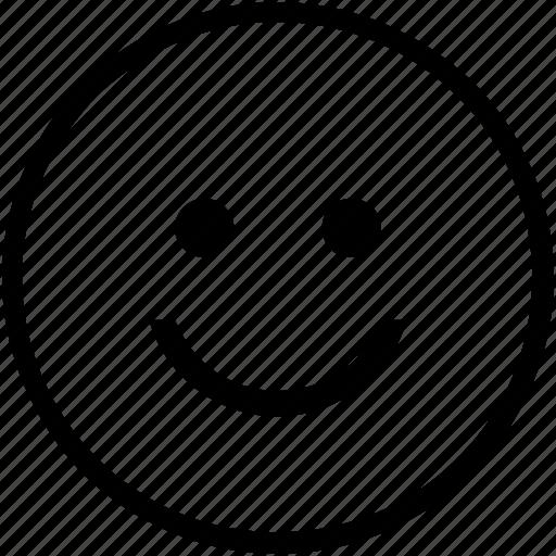 feedback, happy, satisfied, smile icon