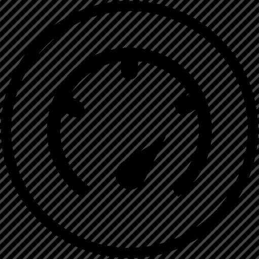 full, gauge, hi, high, performance icon