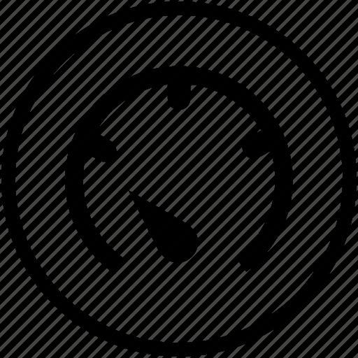 empty, gauge, low, performance icon