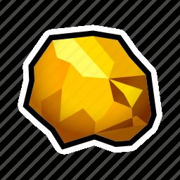 gold, mine, minerals, prize, pure, reward, treasure icon