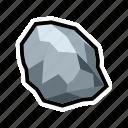 mine, pure, silver, stone, treasure, mineral, rock icon