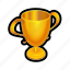 achievement, best, gold, leaderboards, movie, trophy, winner icon
