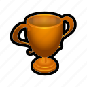 trophy, bronze, leaderboards, win, badge, prize, achievement