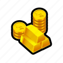 buy, coin, fortune, gold, money, reward, treasure icon