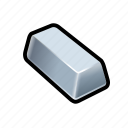 bar, cash, coin, money, payment, price, silver icon