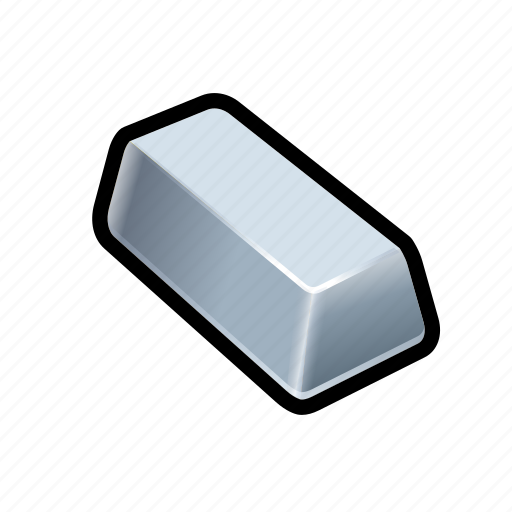 Bar, money, silver, cash, coin, payment, price icon - Download on Iconfinder
