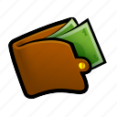 bank, banking, buy, coin, gold, money, wallet icon