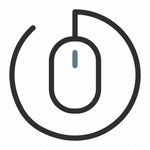 circle, click, connection, contact, link, mouse, website icon