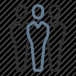 avatars, business, community, group, people, team, users icon