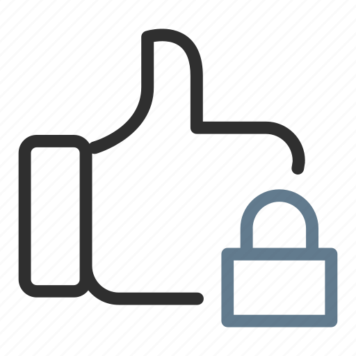 approve, feedback, like, lock, locked, safe, secure icon