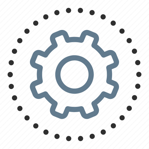 cog, configuration, gear, options, preferences, settings, support icon