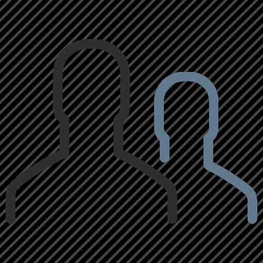 avatars, community, group, men, people, team, users icon