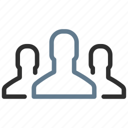 avatar, community, group, people, profiles, team, users icon