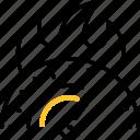 high, performance, speed, equipment, overclocking icon