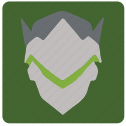 game, genji, overwatch, player icon