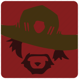 game, mccree, overwatch, player icon