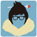 game, mei, overwatch, player icon
