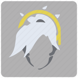 game, mercy, overwatch, player icon