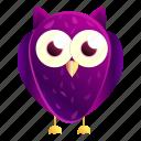birthday, eye, face, kid, owl, purple