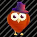 child, christmas, hat, music, owl, top