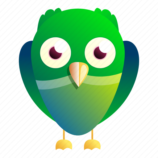 Animal, baby, green, kid, nature, owl icon - Download on Iconfinder