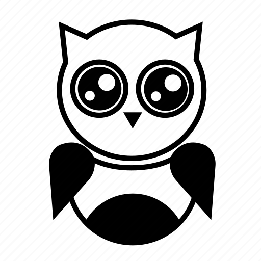 animal, bird, night owl, night time, owl, wise icon