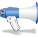advertisement, advertising, blog, megaphone, promotion, speaker icon