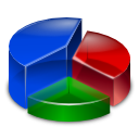 analytics, chart, graph, pie, segmentation, segments icon