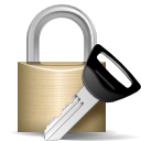 cryptography, key, lock, log in, login, password, security icon