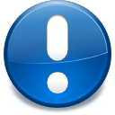 alert, exclamation, information icon