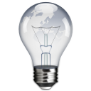 idea, light bulb, power icon