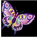 animal, butterfly, papillon, staroffice, summerbird icon