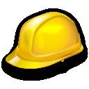 Building, equipment, hat, helmet, industry, job, safety, worker icon